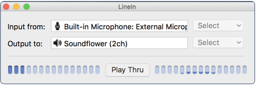 Soundflower Gui